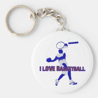 ILoveBasketball Offense! Keychains
