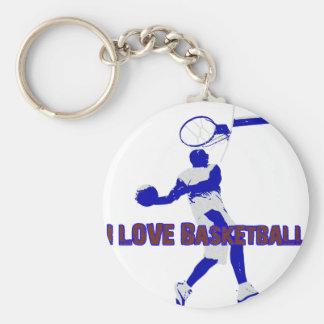 ILoveBasketball Offense Keychain