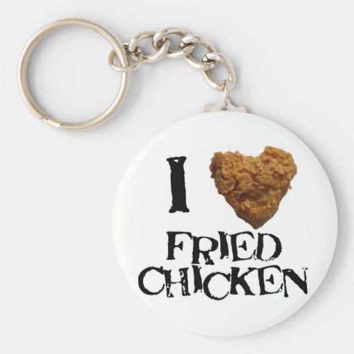 ilovefriedchicken keychains