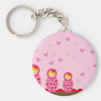 ILoveMat3 Basic Round Button Key Ring