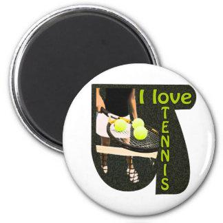 ILoveTennis Backhand Magnet