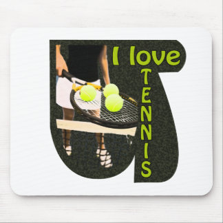 ILoveTennis Backhand Mousepads