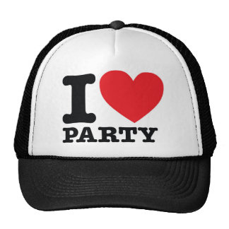 ILPARTY! MESH HATS