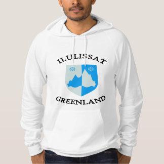Ilulissat coat of arms (2) hoodie