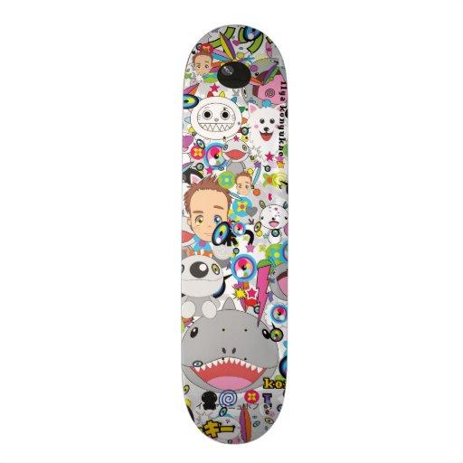 Ilya konyukhov skate board deck