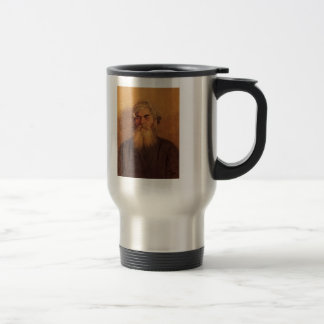 Ilya Repin- A Peasant with an Evil Eye 15 Oz Stainless Steel Travel Mug