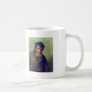 Ilya Repin- A Shy Peasant Basic White Mug