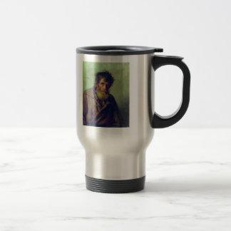Ilya Repin- A Shy Peasant Stainless Steel Travel Mug