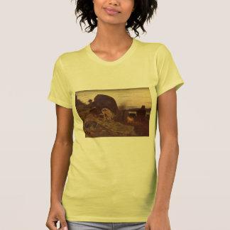 Ilya Repin- Barge Haulers by Campfire T Shirts