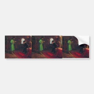 Ilya Repin- Boris Godunov with Ivan the Terrible Bumper Sticker