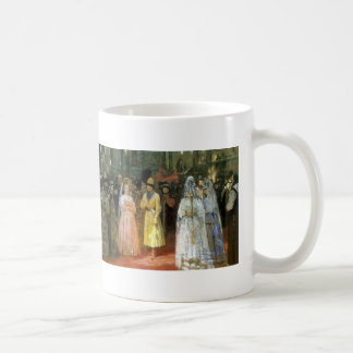 Ilya Repin- Choosing a Bride for a Grand Duke Basic White Mug