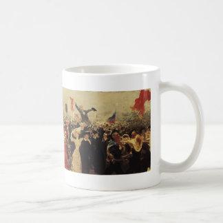 Ilya Repin- Demonstration on October 17, 1905 Coffee Mug