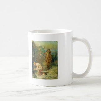 Ilya Repin- Diogenes and the boy Basic White Mug