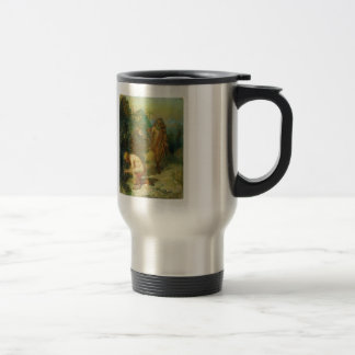 Ilya Repin- Diogenes and the boy Stainless Steel Travel Mug