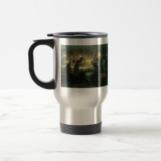 Ilya Repin- Even if all fall away, I will not 15 Oz Stainless Steel Travel Mug