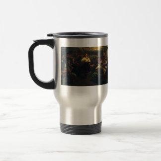Ilya Repin- Evening party Stainless Steel Travel Mug