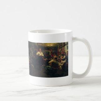 Ilya Repin- Evening party Mugs