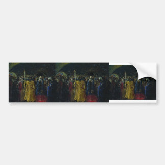 Ilya Repin- Exit of Patriarch Hermogenes Bumper Stickers