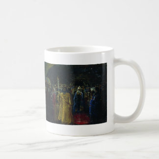 Ilya Repin- Exit of Patriarch Hermogenes Coffee Mugs