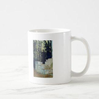 Ilya Repin- Female figure in a landscape Basic White Mug