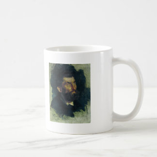 Ilya Repin- Head of a Man Classic White Coffee Mug