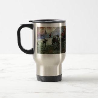 Ilya Repin- In the besieged Moscow in 1812 Coffee Mug
