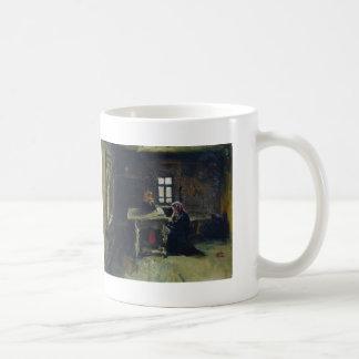 Ilya Repin- In the hut Coffee Mugs