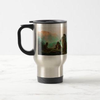 Ilya Repin- Job and His Friends Stainless Steel Travel Mug