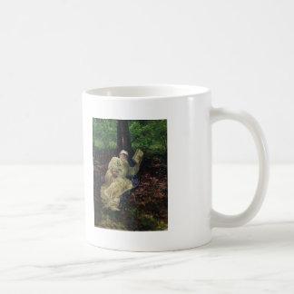 Ilya Repin- Leo Tolstoy in the forest Basic White Mug