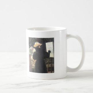 Ilya Repin- M.K. Tenisheva at work Classic White Coffee Mug