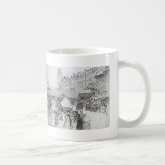 Ilya Repin: Nevsky Avenue Coffee Mugs