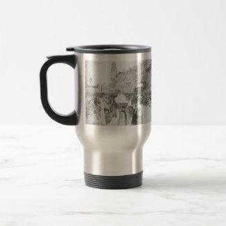 Ilya Repin: Nevsky Avenue Stainless Steel Travel Mug