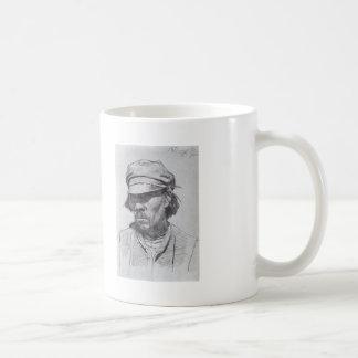 Ilya Repin: Portrait of a kalmyk Basic White Mug