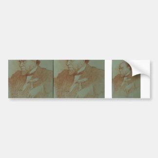 Ilya Repin: Portrait of Academician A. F. Koni Car Bumper Sticker