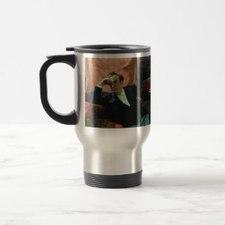 Ilya Repin- Portrait of actor and dramatist Stainless Steel Travel Mug