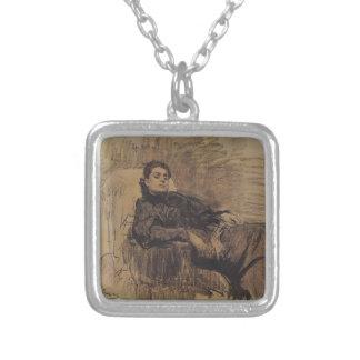 Ilya Repin: Portrait of actress Eleonora Duse Pendants