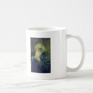 Ilya Repin- Portrait of author Ieronim Yasinsky Basic White Mug