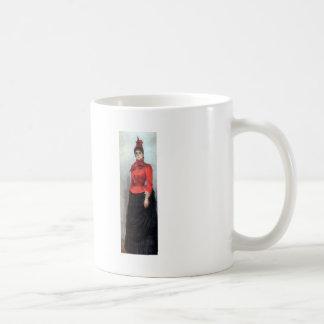 Ilya Repin- Portrait of Baroness Varvara Ikskul Classic White Coffee Mug