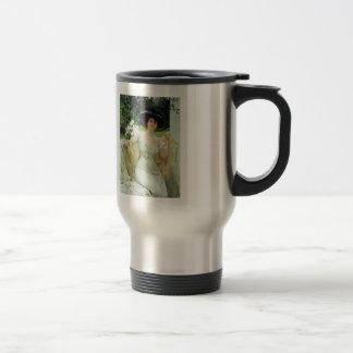 Ilya Repin- Portrait of Bella Gorskaya Stainless Steel Travel Mug
