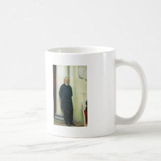 Ilya Repin- Portrait of composer and chemist Basic White Mug