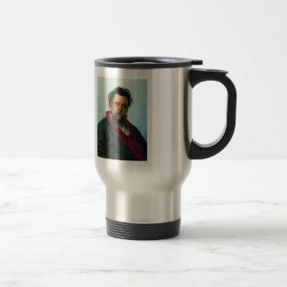 Ilya Repin- Portrait of Composer Modest Musorgsky Coffee Mug