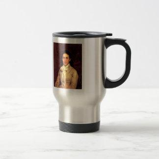 Ilya Repin- Portrait of E. Mamontova Stainless Steel Travel Mug