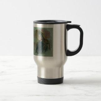 Ilya Repin: Portrait of E. Zvantseva 15 Oz Stainless Steel Travel Mug