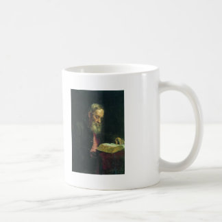 Ilya Repin- Portrait of Efim Repin Basic White Mug