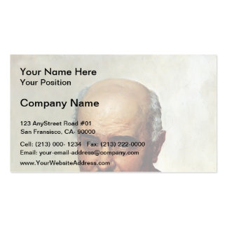 Ilya Repin- Portrait of general and statesman Pack Of Standard Business Cards