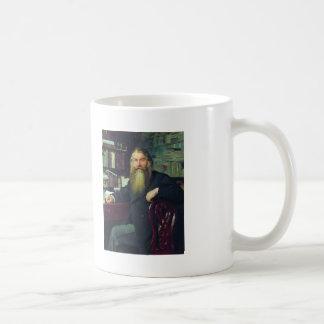 Ilya Repin-Portrait of historian & archaeologist Basic White Mug