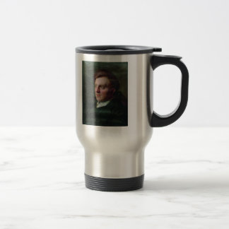 Ilya Repin:Portrait of Ivan Timofeevich Savenkov Stainless Steel Travel Mug