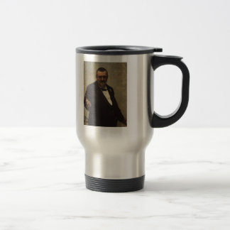 Ilya Repin- Portrait of Lawyer Vladimir Spasovitch Coffee Mugs