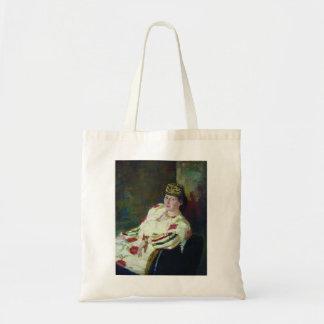 Ilya Repin- Portrait of Mara Konstantinovna Oliv Tote Bag