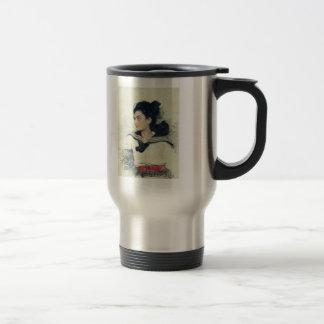 Ilya Repin: Portrait of Maria Osipovna Lowenfeld Stainless Steel Travel Mug